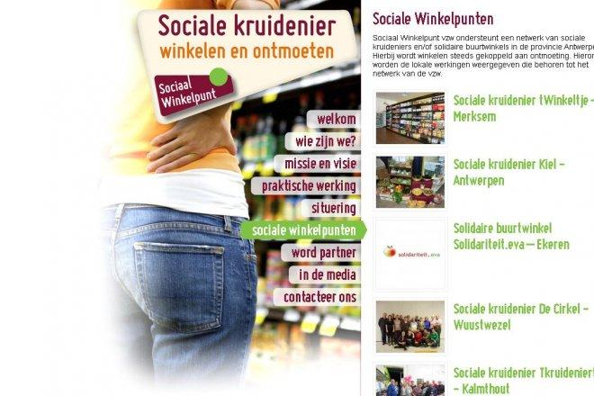 Kontich - Sociale kruidenier De Kompanie